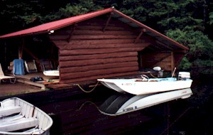 Zoning PROHIBITS building a 'lean-to', but a boathouse is OK!
